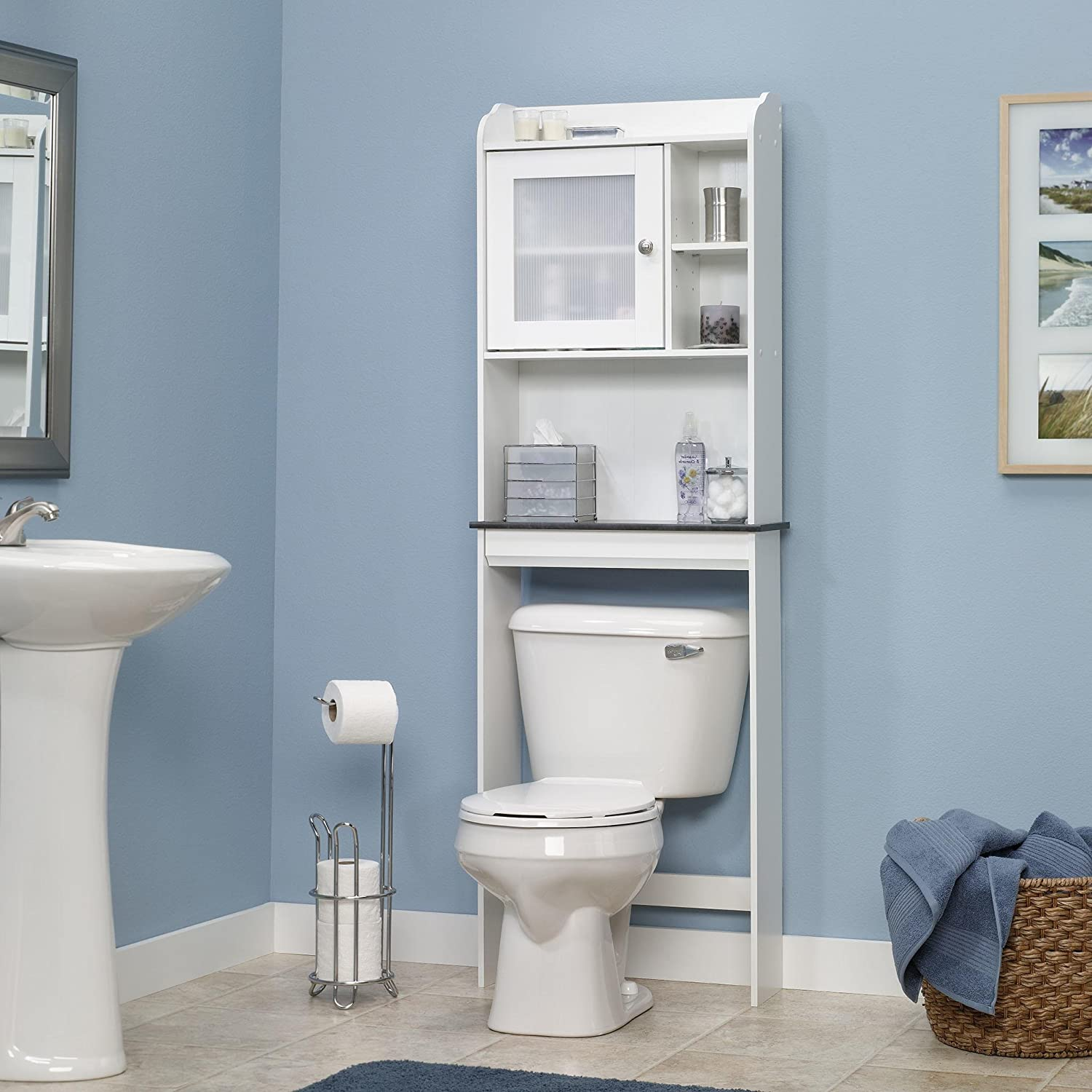 Amazon Bathroom Shelves Over Toilet Bathroom Etagere Bathroom