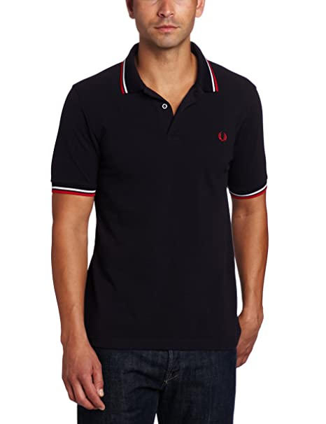 Polo Large es X Fred navy Amazon Hombre Perry M3600 Para Azul xnq1fTPRw