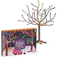 """Craft-tastic – Yarn Tree Kit – Craft Kit Makes One 18"""" Tall Jewelry Organizer"""