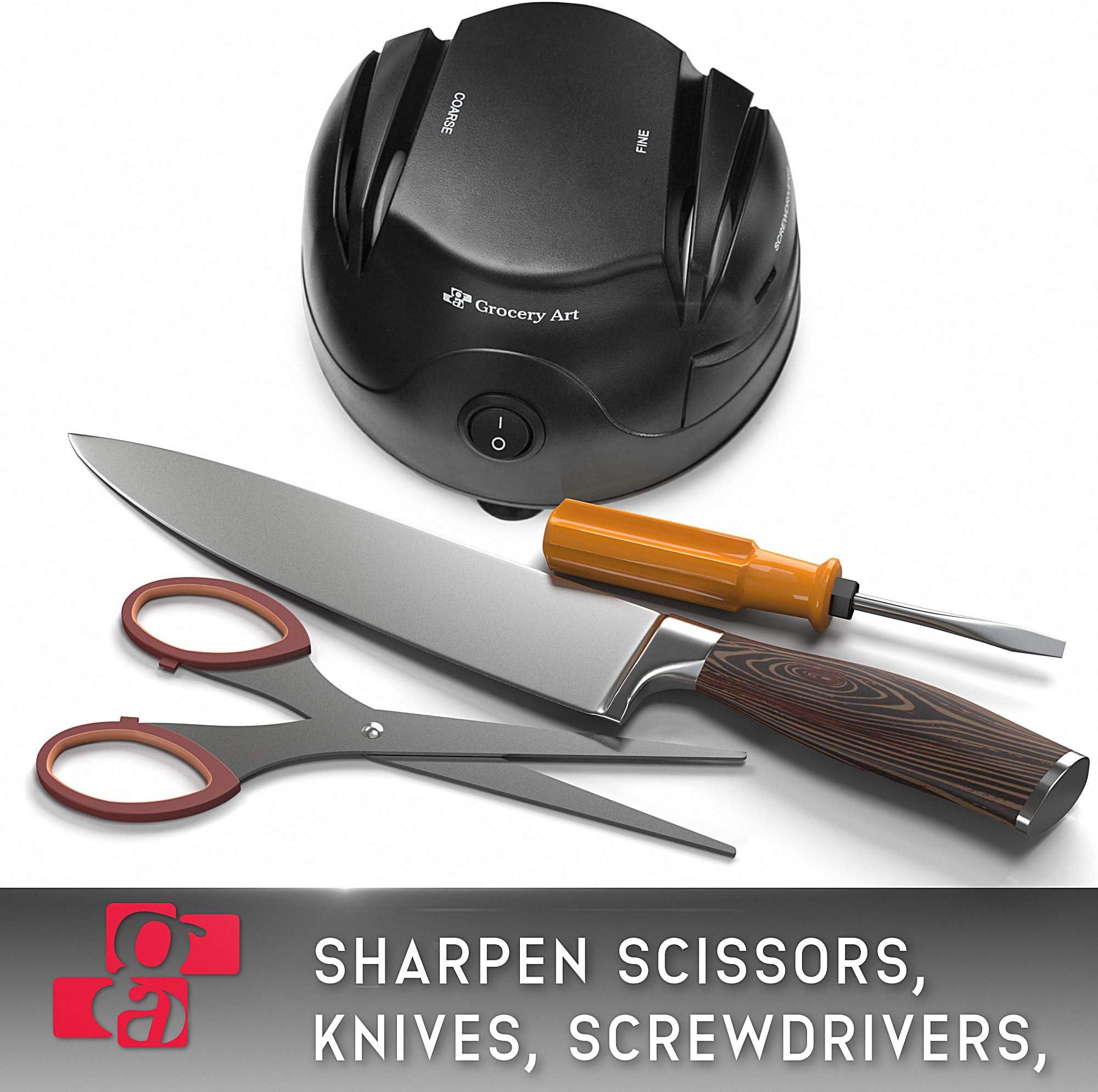 GA Knife Sharpener Electric Multi-Angle Sharpen