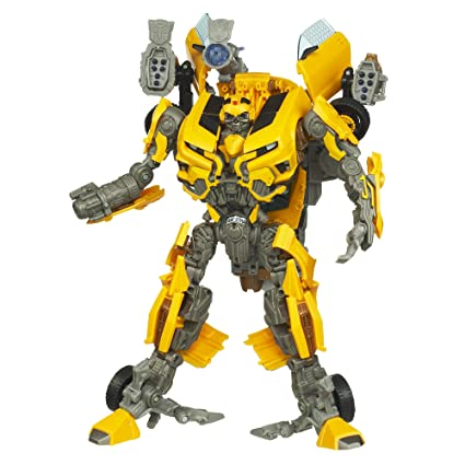 Transformers, Dark of the Moon Movie Leader Class Action Figure, Bumblebee,  10 Inches