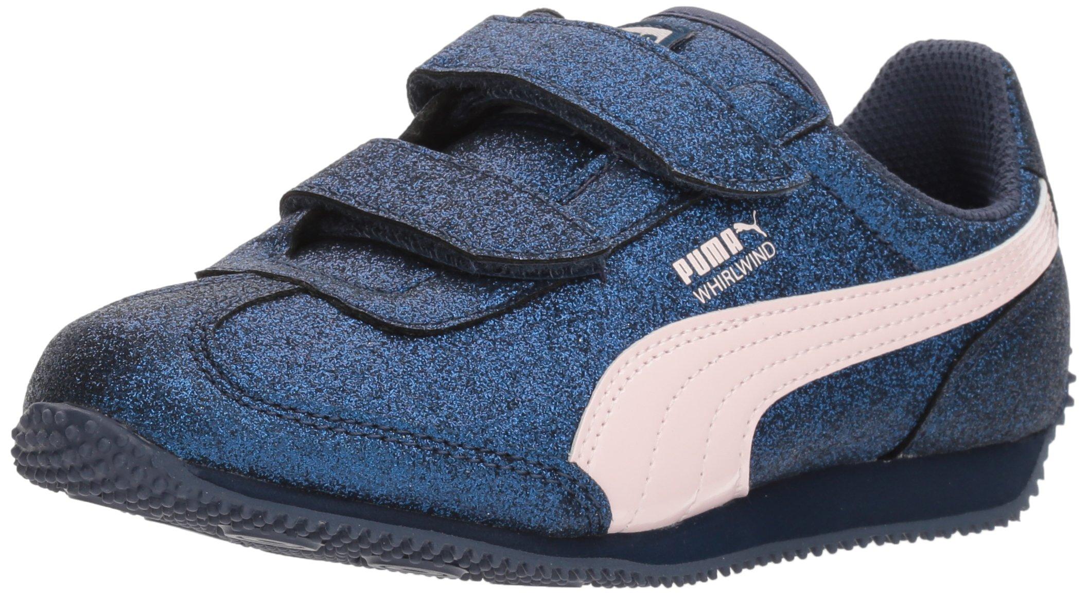 2ba0c42d7fe5 Galleon - PUMA Girls  Whirlwind Glitz V Sneaker