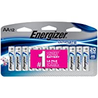 Deals on Energizer Ultimate Lithium AA Batteries 12 Count