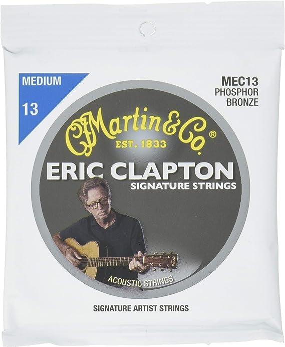Martin MEC13 Clapton's Choice Phosphor Bronze Acoustic Guitar Strings