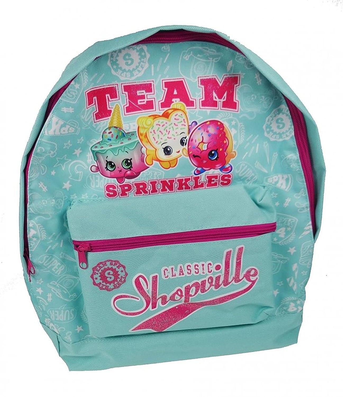 Shopkins Roxy Backpack Mochila infantil, 39 cm, 13 liters, Turquesa (Aqua)