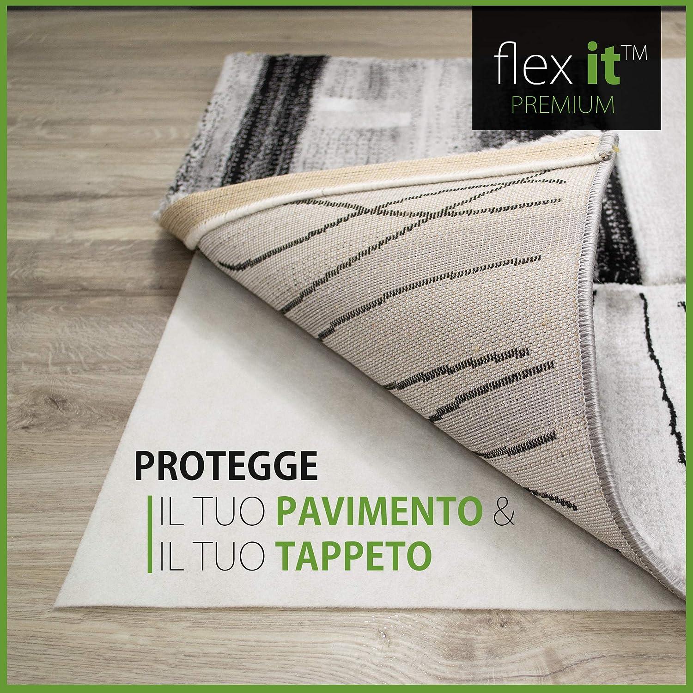 Flex it™ Premium   Antirutschmatte für Teppiche     Ohne PVC & Weichmacher   div. Größen B077J2QS36 Teppichunterleger 1ea2f4