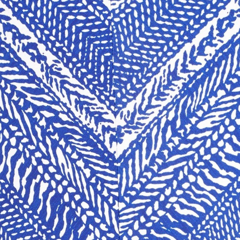 Robin Piccone Print Halter Renee Jumpsuit Cover-Up Cobalt//Ivory