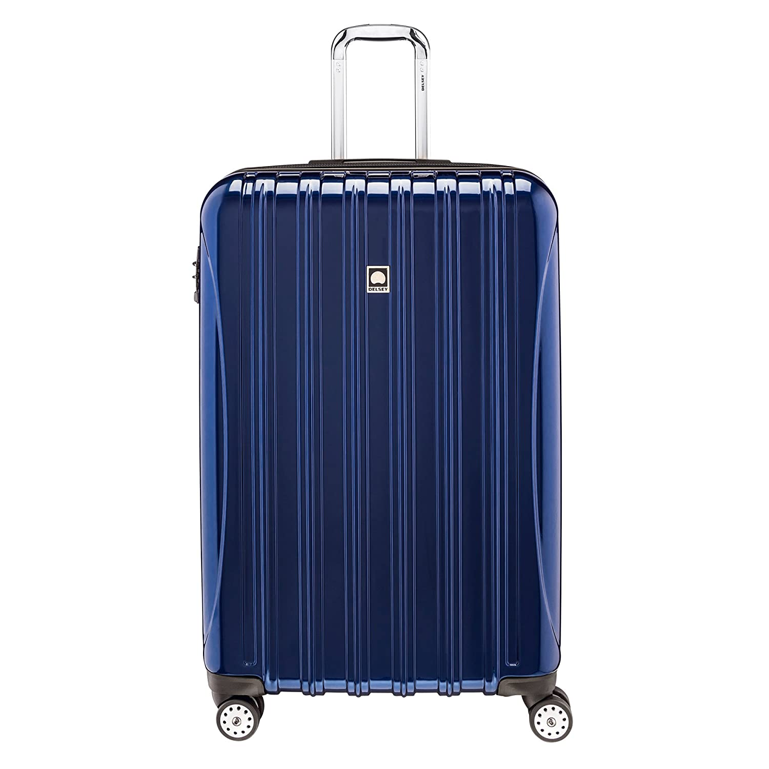 f8ee39323a2 Delsey Helium Aero 29-Inch Expandable Spinner Trolley, Blue, One Size:  Amazon.ca: Luggage & Bags