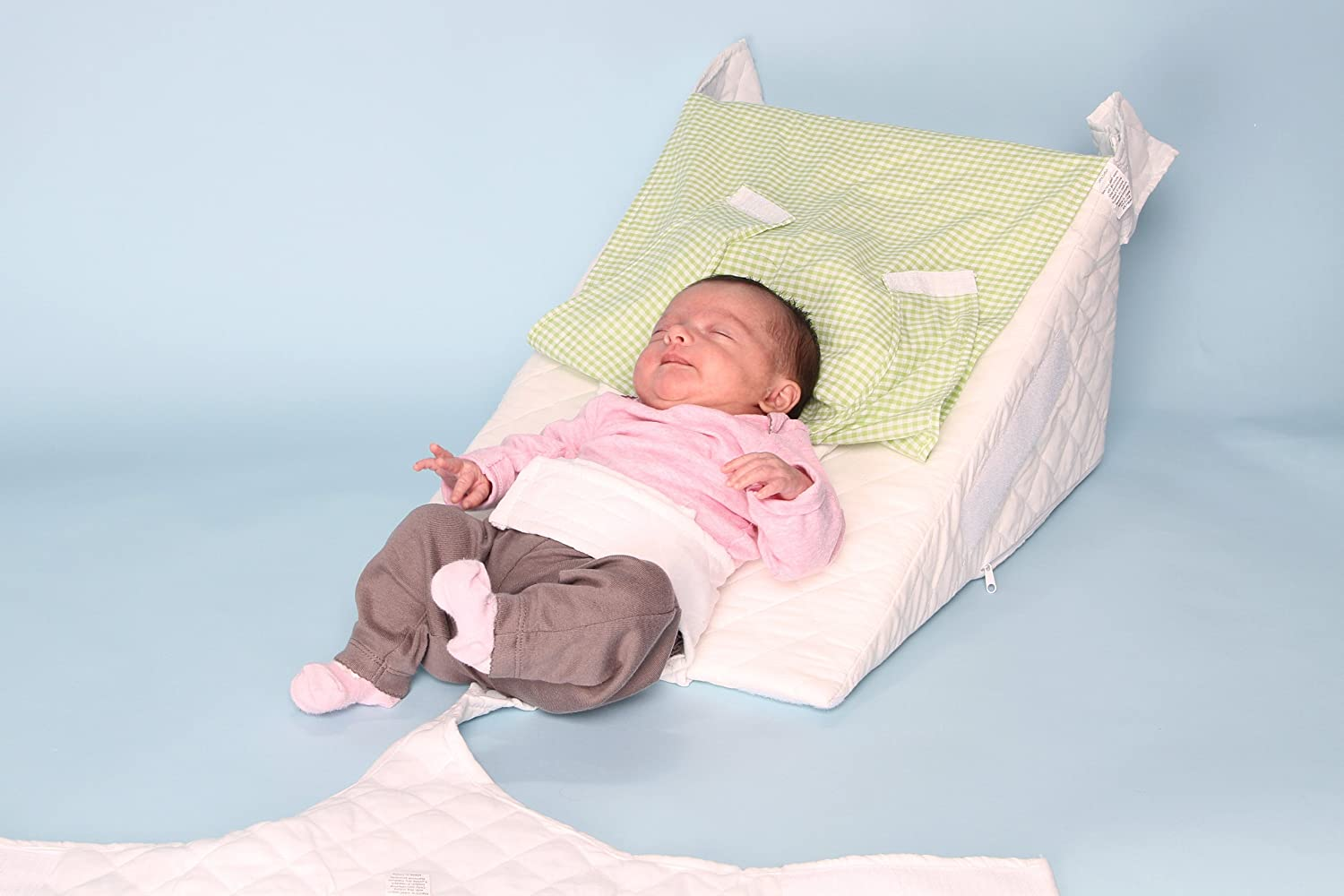 Baby bed for reflux - Amazon Com Baby Ar Pillow Acid Reflux Pillow Wedge For Babies And Infants Safely Elevate To A 30 Degree Angle The Researched Proven Best
