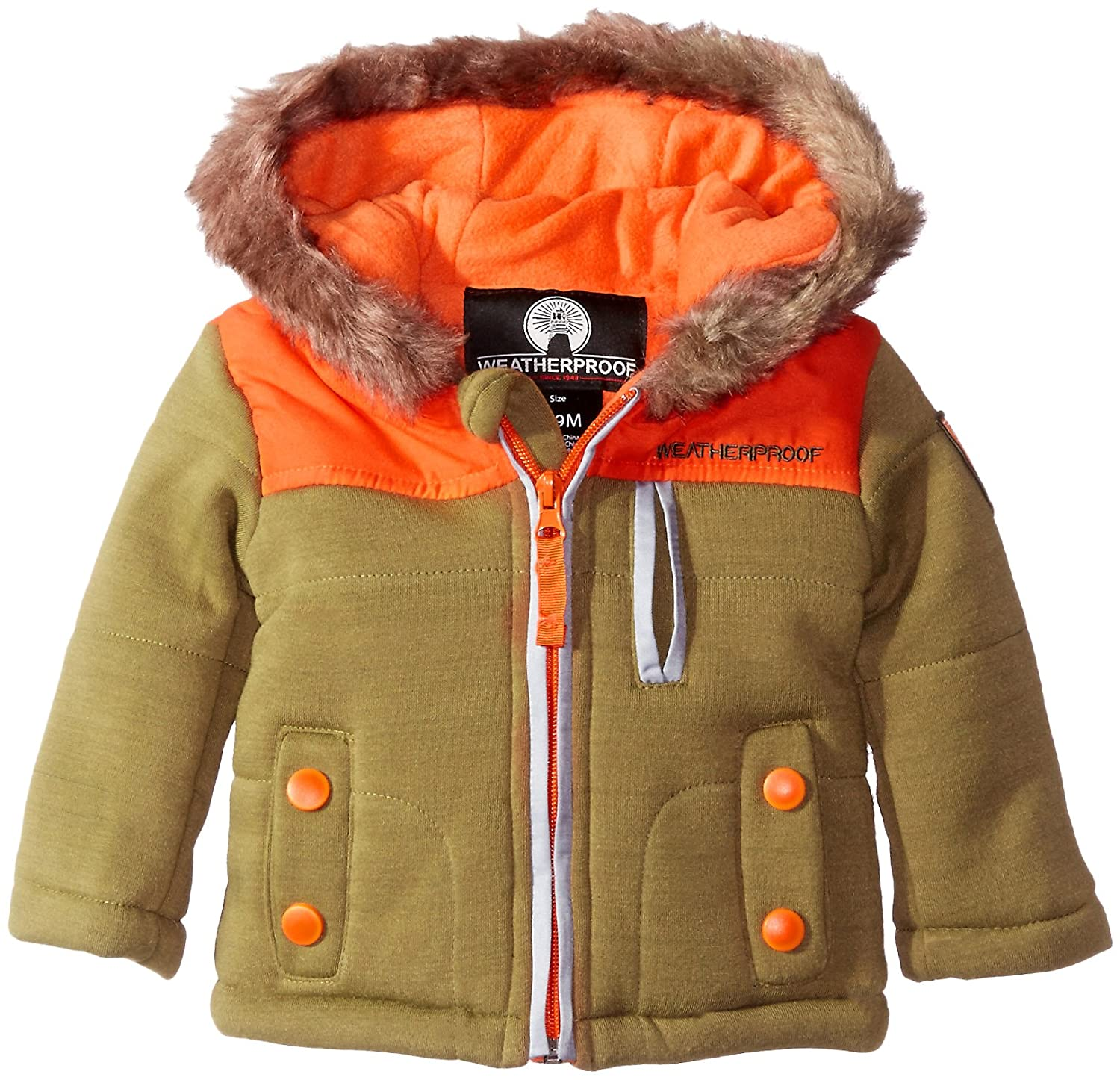 Weatherproof Baby Bubble Jacket (More Styles Available) Loden 12 Months JIW044H