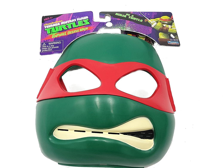 Máscara Raphael Tortugas Tortuga Ninja disfraz de carnaval ...