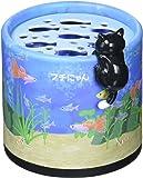 カーメイト 車用芳香剤 フチにゃん&ねこあつめ ゲル 置き型 猫好きのためのネコフィギア付き さわやかなシャンプーの香り 80g G1153