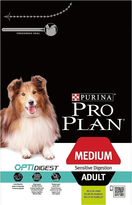 Purina ProPlan Medium Digest pienso para Perro Adulto Cordero 14 Kg