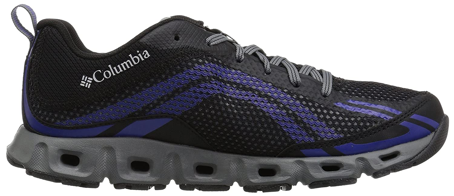 Columbia Women's Drainmaker IV Water Shoe B073RNQCDM 6 B(M) US|Black, Grey Ice