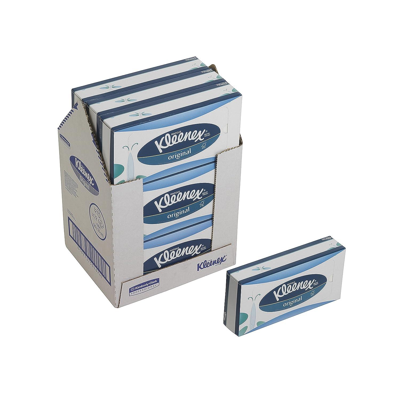 72 Fogli a 3 Veli per Box Colore Bianco Kleenex 8824 Fazzoletti La Cassa Contiene 12 Cartoni