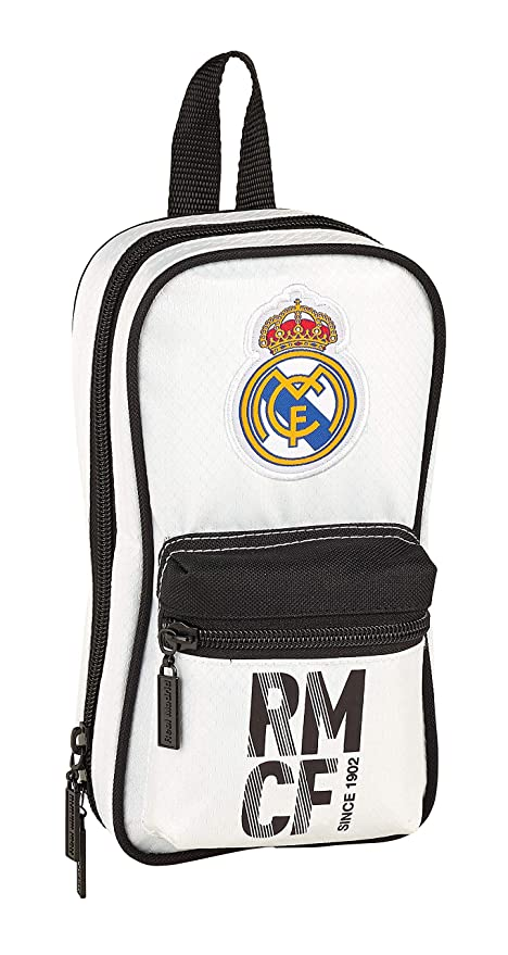 Real Madrid 411854847 2018 Neceser, 23 cm, Blanco