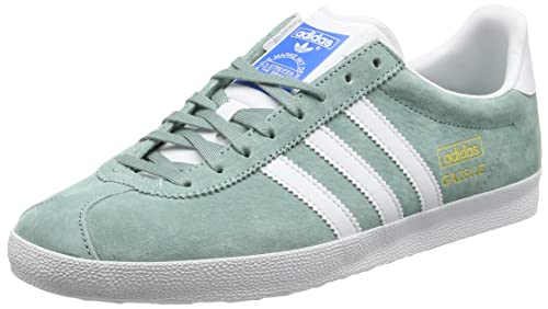 adidas Gazelle Og, Sneaker Uomo, Verde GreenLegend Footwear White/Legend Green, 38