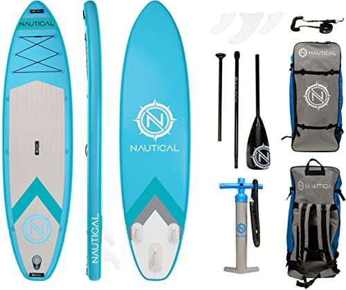 Inflatable Paddle Board Kit [Irocker Nautical] detail review