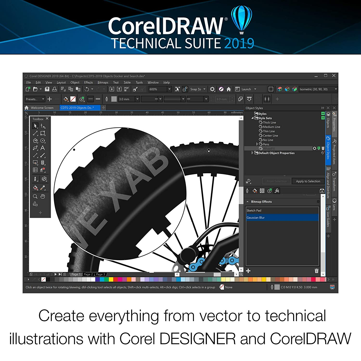 Amazon com: CorelDRAW Technical Suite 2019 - Technical