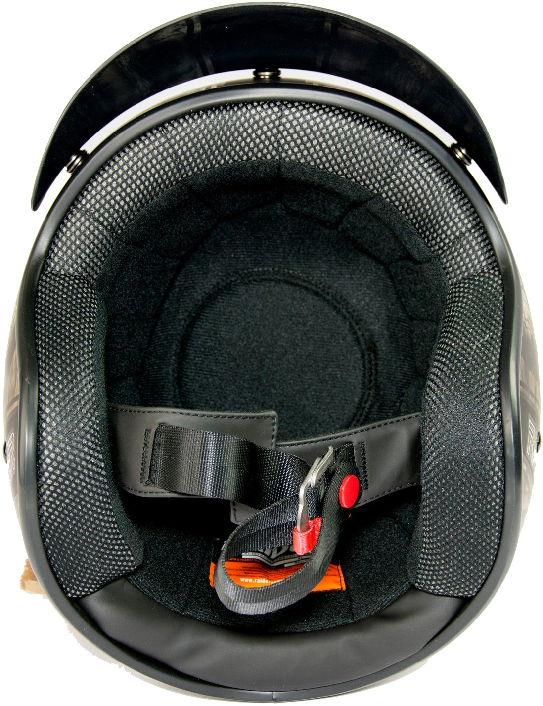 Raider 24-632MO-16 Ambush Adult Open Face Helmet Mossy Oak Break Up Infinity X-Large