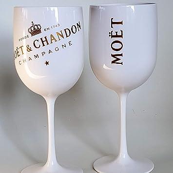 Moet gläser weiß