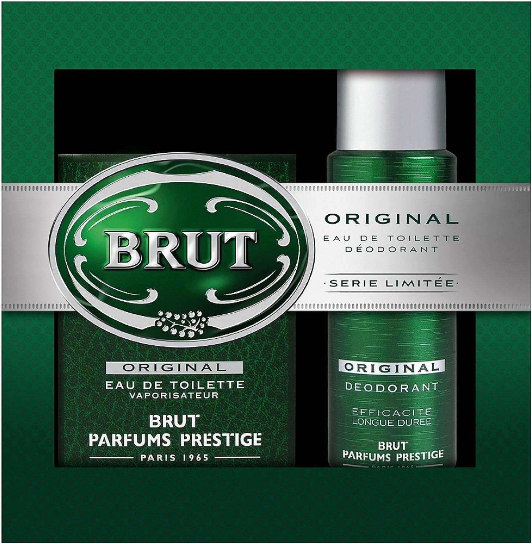 Brut estuche de Navidad original Eau de Toilette/desodorante: Amazon.es: Belleza