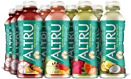 ALTRU Exotic Fruit Flavored Water - Variety Pack | Bottled Water Drink with Patent Pending Antioxidant & Electrolyte Blend (12 pack)