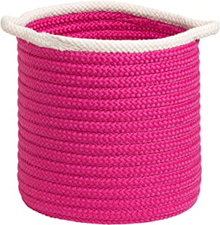"product image for Colonial Mills Sonoma Basket, 20""x20""x18"", Magenta"