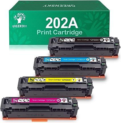 CF501A Cyan Toner cartridge For HP 202A LaserJet Pro M254dn MFP M280nw M281cdw