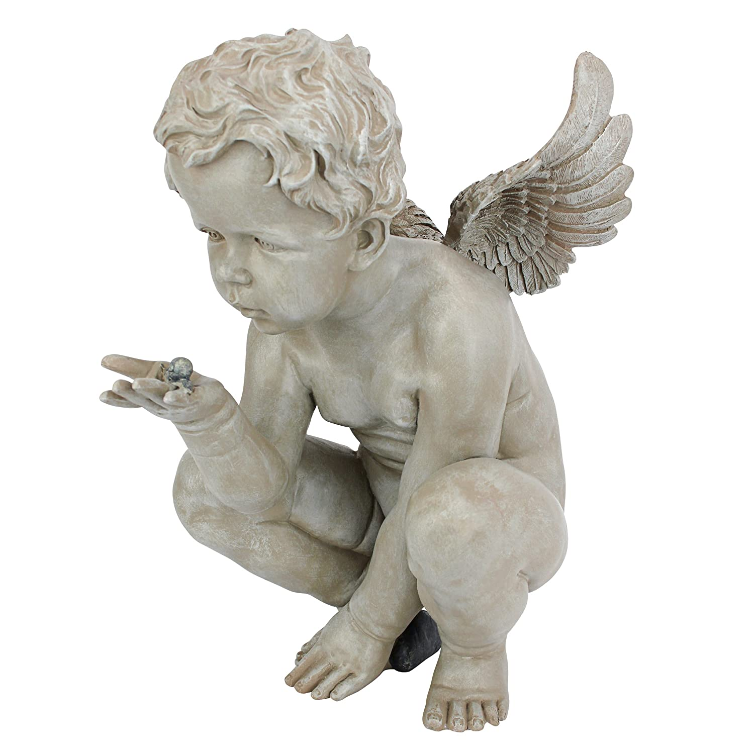 Amazon.com : Design Toscano Lifeu0027s Mysteries Cherub Statue : Outdoor  Statues : Garden U0026 Outdoor