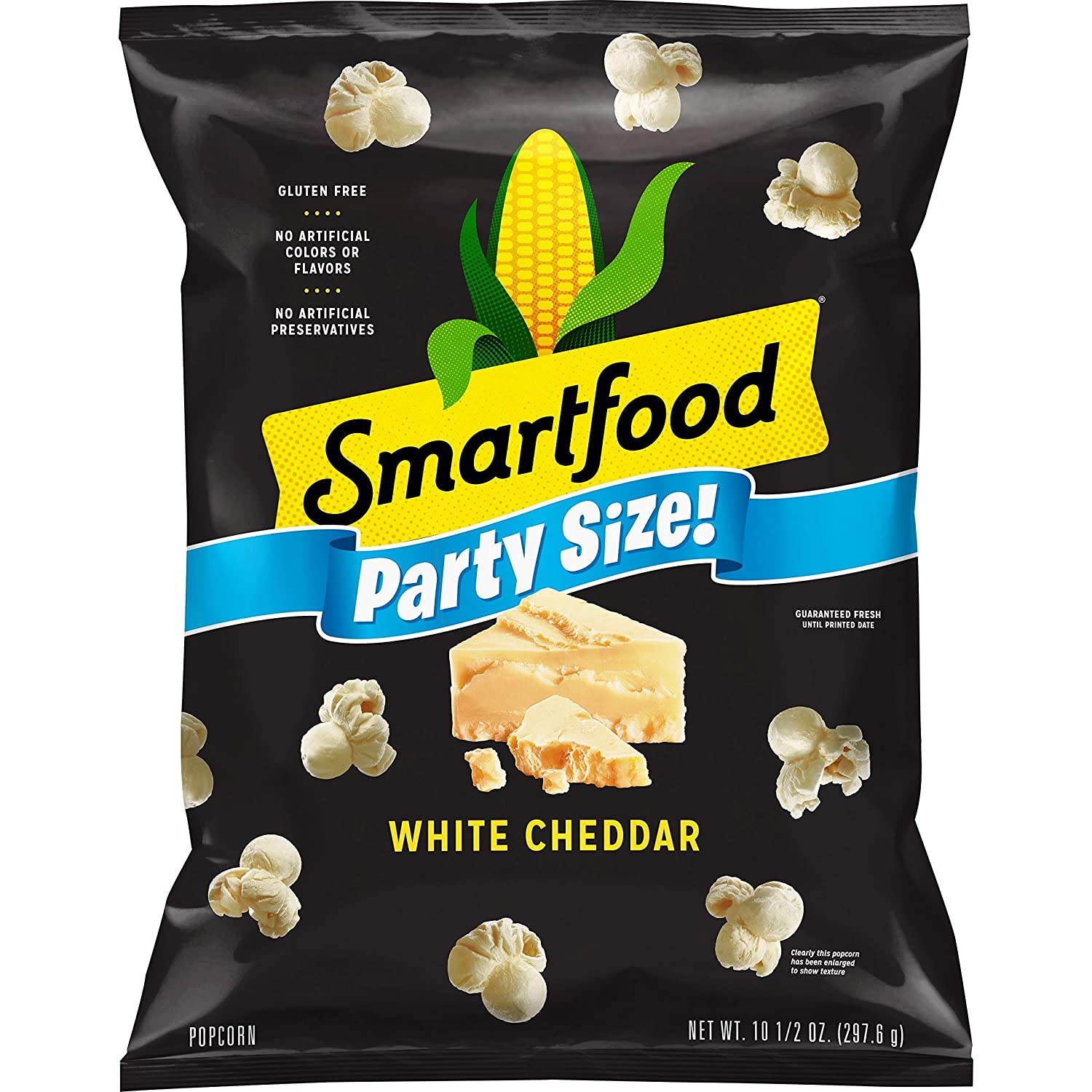 Smartfood White Cheddar Flavored Popcorn, Party Size! 10.5oz Bag