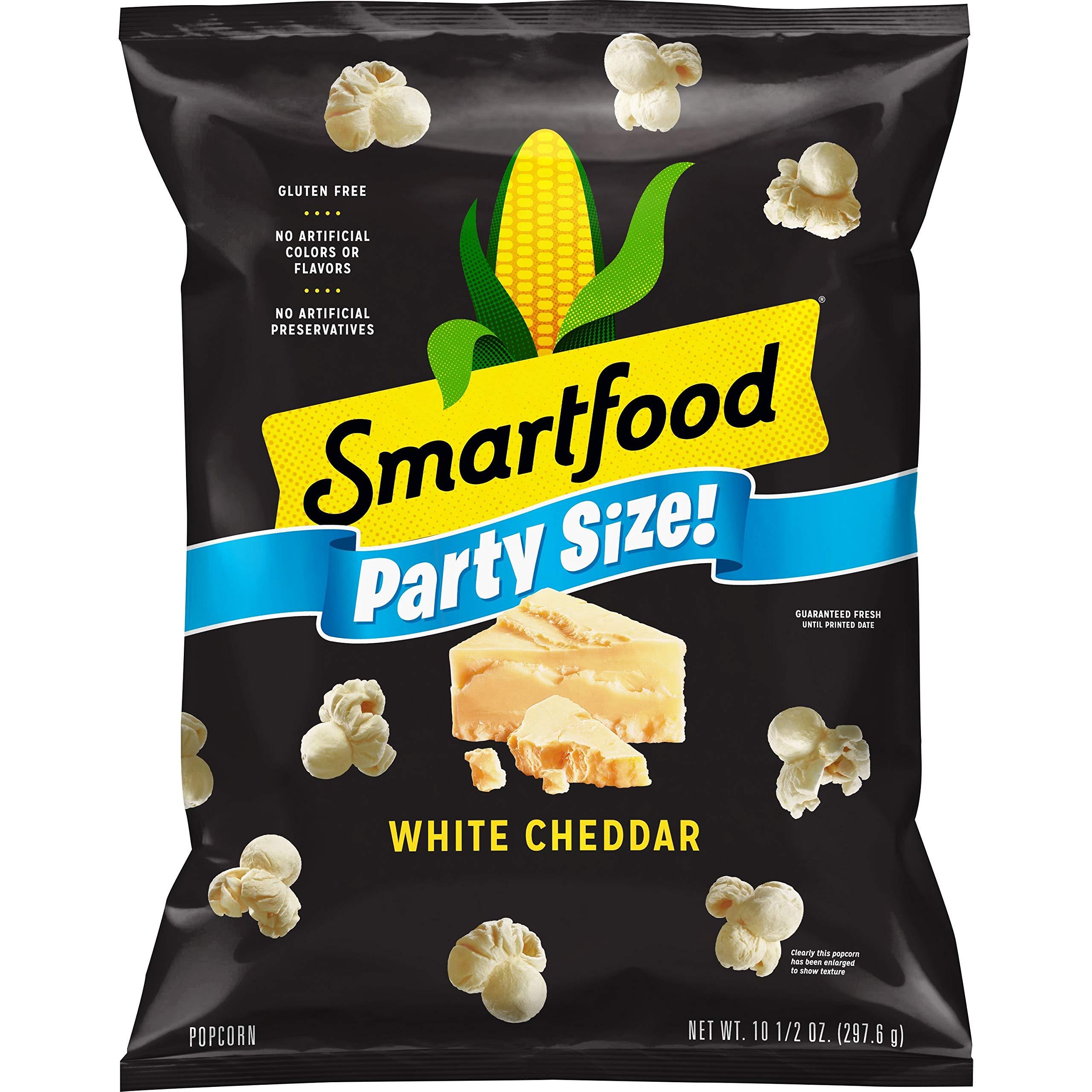 Smartfood White Cheddar Flavored Popcorn, Party Size! 10.5oz Bag
