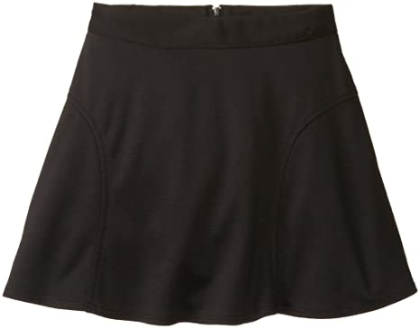 Amazon.com: Amy Byer Big Girls' Ponte Circle Skirt with Pockets ...