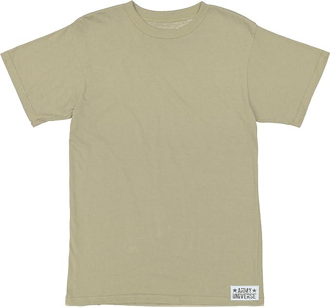 Amazon.com  Army Universe Desert Tan Sand Military T-Shirt 75bb86fc1