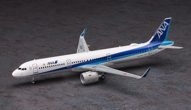 Amazon.com: Hasegawa 10826 ANA All Nippon Airbus A321neo 1 ...