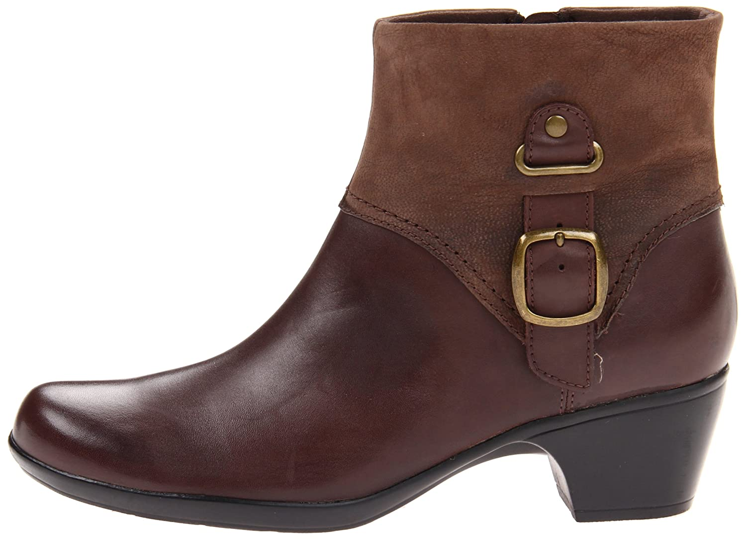 Amazon.com | Clarks Ingalls Nile Womens Ankle Boots Brown 10 | Ankle &  Bootie