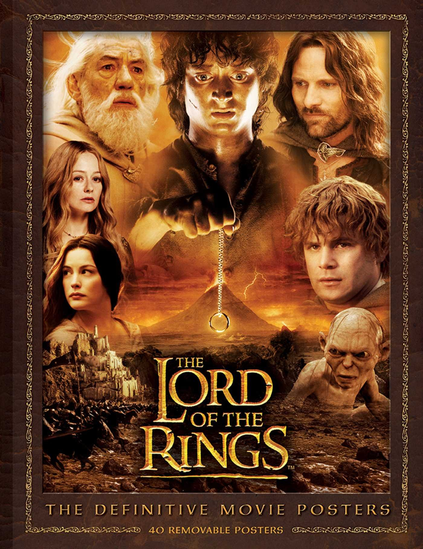 The Lord of the Rings: The Definitive Movie Posters (Insights Poster  Collections) Paperback – July 15, 2014