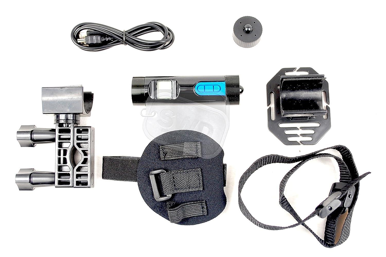 High Definition HD Sport Action Helm Kamera LCD-Display Built in LED Taschenlampe Video Armband Körper Cam