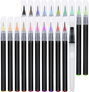 21 Watercolor Brush Pens