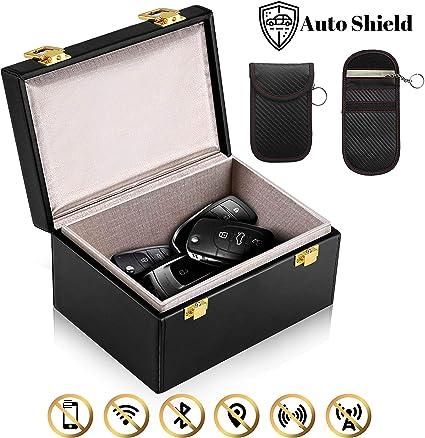 Auto Shield - Bloqueador de señal para Llave de Coche, Caja de ...