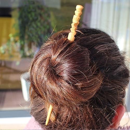 Holz Haarstab Für Hochsteckfrisur Haarnadel Für Lange Haare