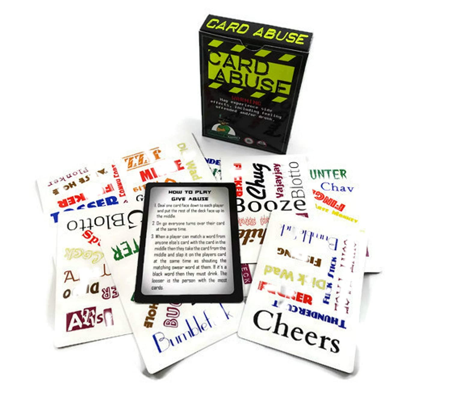 Card Abuse: Adult Card Game- Hilarious Word Matching With ...