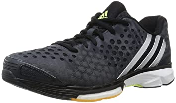 sports shoes fd3c5 60c4f adidas Damen Volleyballschuhe Volley Response Boost dark greysilver  met.frozen yellow f15
