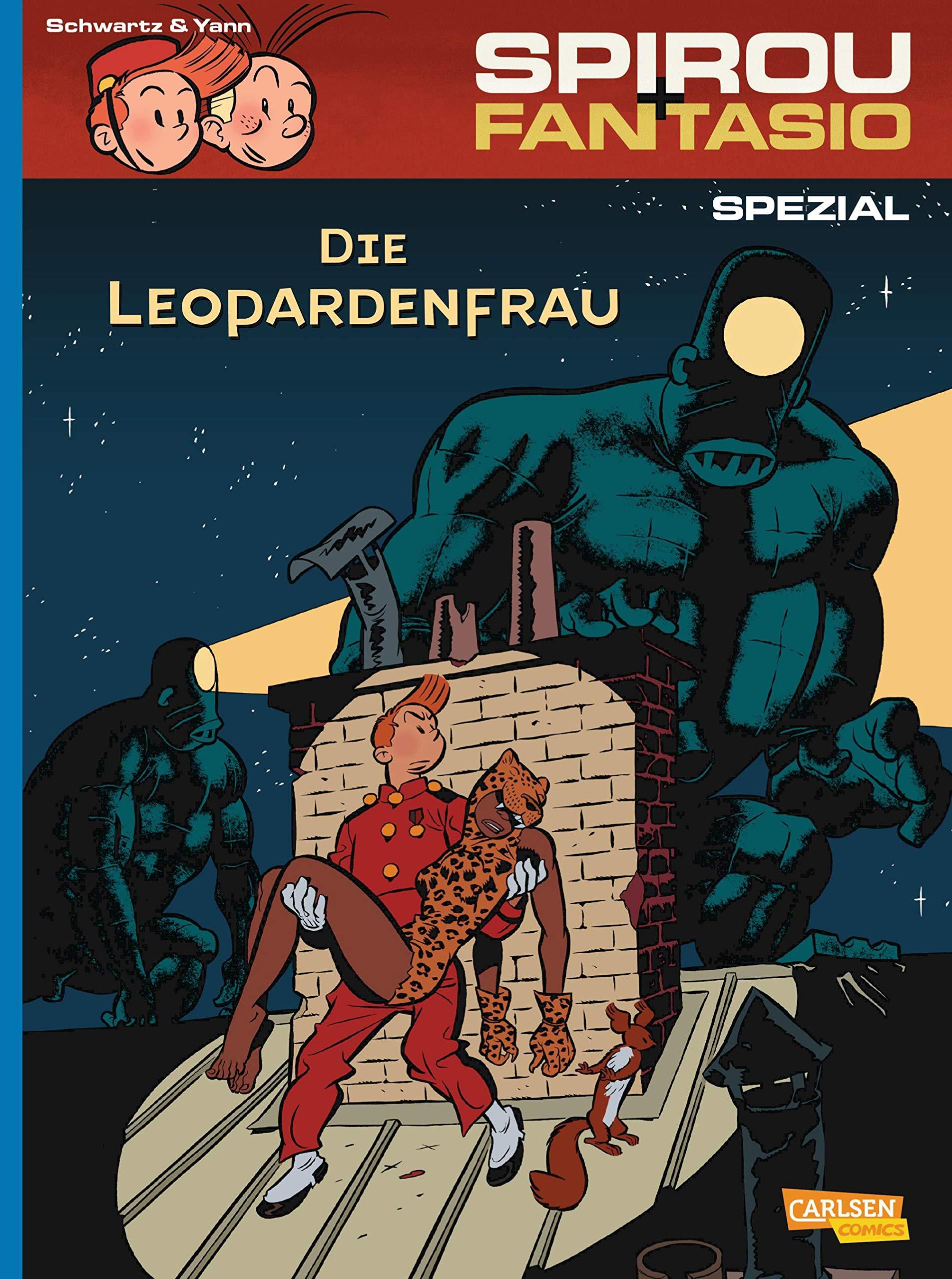Spirou Und Fantasio Spezial 19  Die Leopardenfrau  19