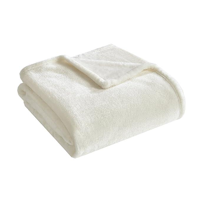 Manta de Microfibra - Manta Súper Suave - Fabricada en Poliéster 104% Resistente al Desgarro - Antibacterial: Amazon.es: Hogar