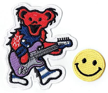 Bears On Tour Bus Dancing Bears Patch Grateful Dead Patches Iron On