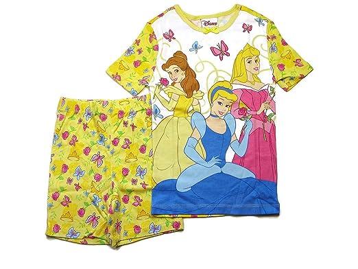 c3535a777 Amazon.com  DISNEY Princess PJ Pal Girl s Yellow Butterfly Print ...