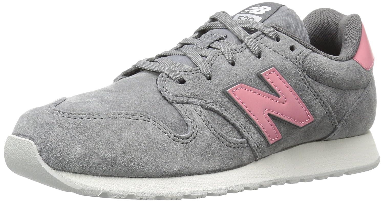 New Balance Women's 520v1 Sneaker B01MUSC6L2 7 B(M) US|Grey/Pink