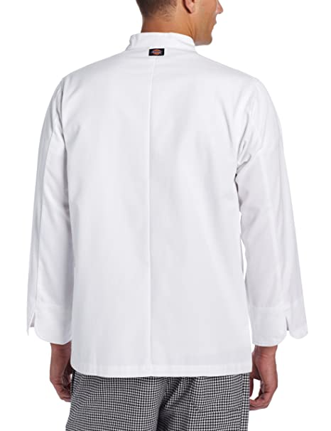 d4a604f67e Amazon.com  Dickies Men s The 8 Button Chef Coat  Chefs Jackets  Clothing