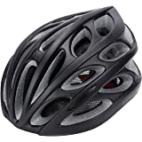 Gonex Adult Bike Helmet, Cycling Road Helmet with Safety Light, Adjustable 58-62cm, 24 Integrated Flow Vents